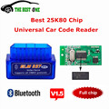 Full Tracking V1.5 Super MINI ELM327 Bluetooth ELM 327 V 1.5 25k80 Chip OBD2 / OBDII For Android Torque / PC Car Code Scanner