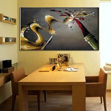 Frameless 100% hand painted paintings for carnival canvas wall decor modern abstract oil painting living romm