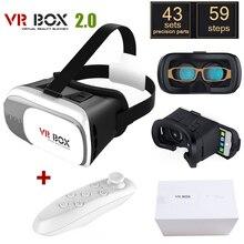 "Original Google CAJA de Cartón VR II 2.0 VR Realidad Virtual Gafas 3D Para 4 ""-6"" Smartphone + blanco Bluetooth Gamepad"