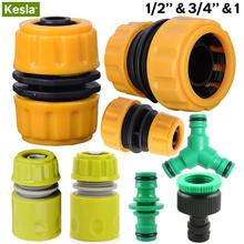 Damaged-Leaky-Adapter Water-Irrigation-Connector Garden-Tools Repair Joints 1/2-3/4''