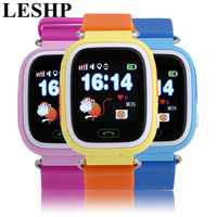 LESHP Children Student Touch Screen Smart Watches GPS Positioning Phone Call WiFi Anti Fall Off Waterproof