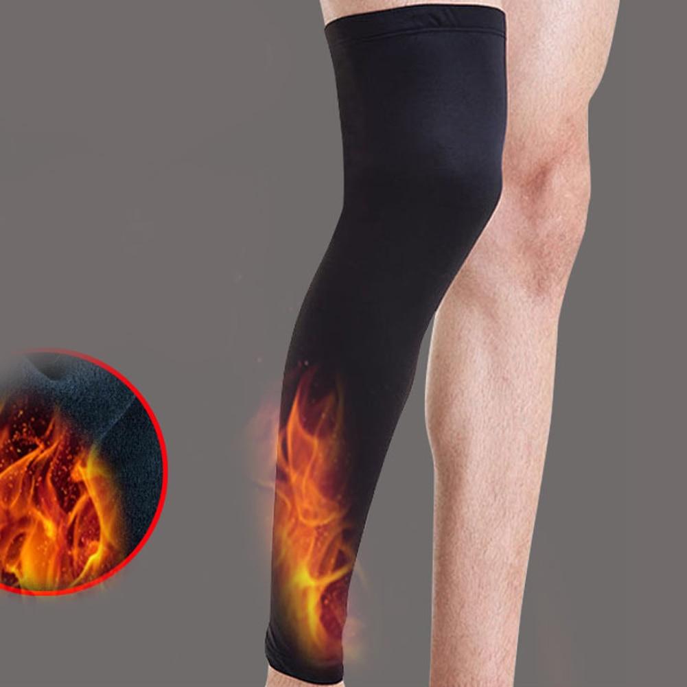 Kids Adult Pad Basketball Leg Knee Long Sleeve Protector Gear Crashproof US#V