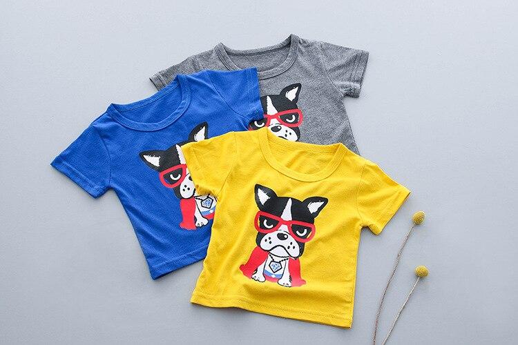 KINE панды одежда для маленьких мальчиков комплект летней одежды футболка + короткие штаны спортивные костюмы 2 шт. 0-1-2-3Y