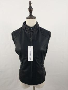 2018 Fashion New Women's Jacket European Fashion Leather Jacket Pimkie Cleaning Single PU Leather Motorcycle Temale Women's Leat 1