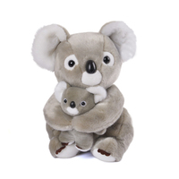 Plush Koala Mother Holding Baby Cartoon Stuffed Animal Toys Cute Soft Dolls Best Gifts for Kids Friend Girls Baby 11