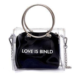 Fashion Women Bag Set Transpar