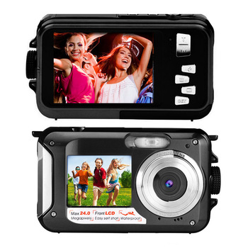 Full HD 1080P Digital Camera 24mp Cheap Camera Digital 16X Zoom Waterproof Camera Professional With Lithium Battery And Duable 2017 new 20mp 8x optical zoom cheap digital camera quality digital camera 2 7 screen 720p hd video lithium battery