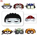 PAW patrol masks set  for birthday Christmas costumes party gifts Carnival cosplay costumes  for all1set=8 masks