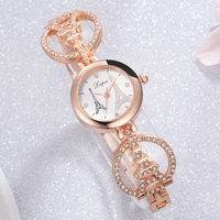 Lvpai Brand Women Bracelet   Watch   Tower Luxury Creative Quartz Ladies WristWatches Women   Dress     Watches   Gift Clock LP166