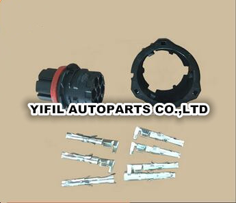 100pcs/lot 967650 1 1813344 1 TE Tyco AMP 7 pin female wire harness auto electrical waterproof connector-in Cables, Adapters & Sockets from Automobiles & Motorcycles    1