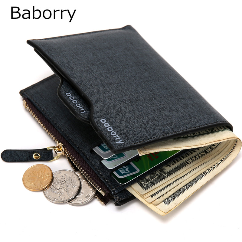 Male Gift Casual Men Wallets Bifold Wallet ID Card Holder Coin Purse Pockets Clutch with Zipper Coin Bag Men Wallet Roomy pocket 2017 new fashion men wallets bifold wallet id card holder coin purse pockets clutch with zipper men wallet with coin bag r051
