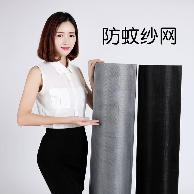 Windows Screen Fiberglass Enforced PP Polymers Black/Grey 25*25/20*20/16*18mesh, 10sq Meter Pack
