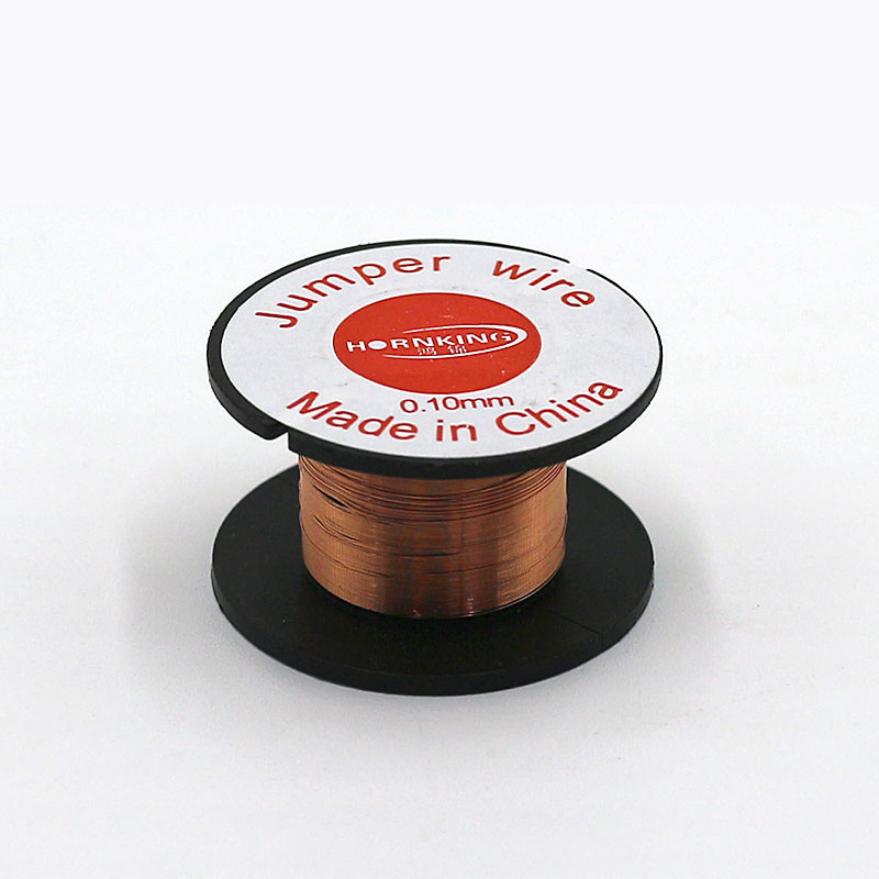 1Pcs Copper Soldering Wire 0.1mm Link Jumper Maintenance Jump Line For Mobile Phone Computer PCB Welding Repair