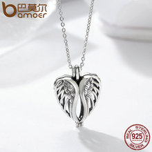 925 Sterling Silver Tree of Life Anchor Heart Cage Pendant Fit Chain Necklaces Authentic Silver Jewelry (20 designs)