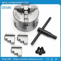 K11 125 high precision three/3 jaw chuck self centering chucks 125mm 5 inch for Mechanical lathe,Mini lathe