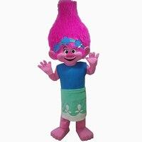 NEW Poppy From Dream Works TROLLS Movie Costume Mascot Fancy Dress BRAND