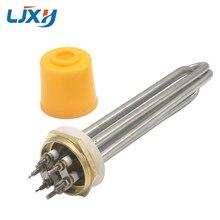 LJXH 304SS DN40/1.5 pouce chauffage pour réservoir, chauffe eau électrique, élément chauffant, 220 V/380 V, 3KW/4.5KW/6KW/9KW/12KW