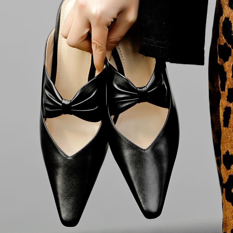 ALLBITEFO ของแท้หนังส้นคริสตัลงานแต่งงานรองเท้าผู้หญิงคุณภาพสูงฤดูร้อนผู้หญิงรองเท้าแตะสุภาพสตรีรองเท้าผู้หญิงรองเท้าส้นสูง-ใน รองเท้าส้นสูง จาก รองเท้า บน   3