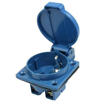 Waterproof Plastic Casing 2P Industrial Plug XA-220S 63a 3pin 220 240v industrial waterproof concealed appliance plug waterproof grade ip67 sf 633