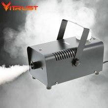 Лучший хэллоуин туман машина лучший холодной курильщика, создатель тумана для Бар Партии Свадебные Украшения холодный генератор дыма 400 Вт 220 В