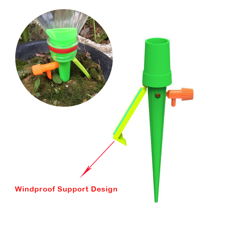 1pc Upgrade Plant Self Watering System Vacation Plant Waterer Self Automatic Drip Watering Irrigation System Auto Drip