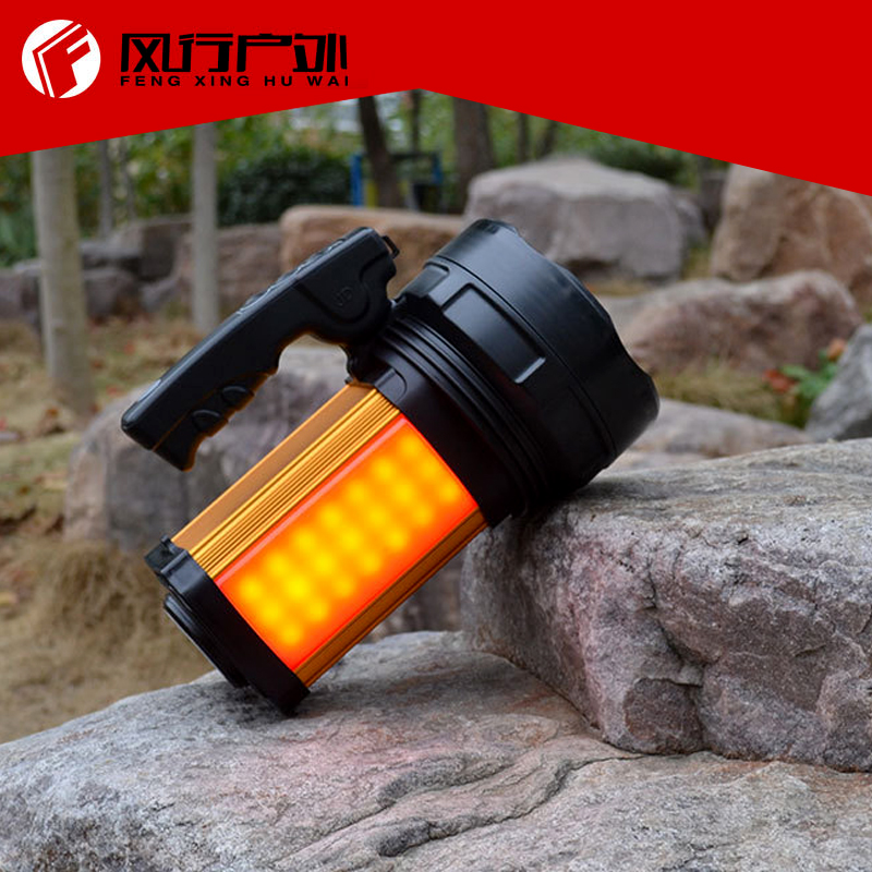 Powerful Lantern searchlight rechargeable led spotlight for hunting camping with high capacity buit-in battery  fenix cl25r rechargeable lantern cl25rg фонарь olive