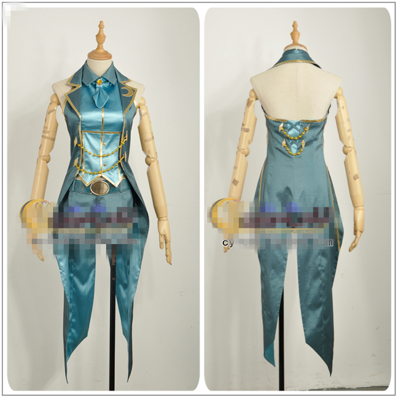 Japanese Amine THE IDOLM@STER Cinderella Girls Tulip Shiomi Syuko Cosplay Costume Custom Made Woman Dress
