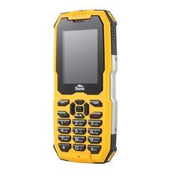 IP68 прочный телефон Водонепроницаемый пыленепроницаемое ударопрочное GSM 2G Dual Sim карты мобильного телефона большая клавиатура яркий фонарик