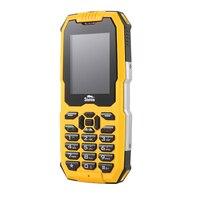 IP68 Rugged Phone Waterproof Dustproof Shockproof GSM 2G Dual Sim Card Mobile Phone Big Keyboard Strong Light Flashlight