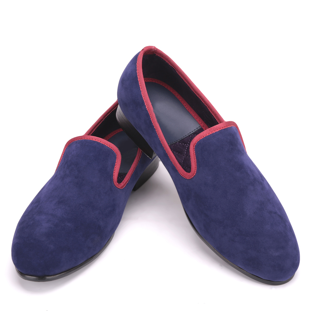 Men High-grade velvet shoes with different trim Men British style Handmade Casual loafers Party and Banquet smoking men dress sh piergitar 2016 new india handmade luxurious embroidery men velvet shoes men dress shoes banquet and prom male plus size loafers