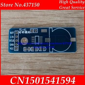 Moduł zegarowy Ds1302 moduł MCU płytka drukowana majsterkowanie tanie i dobre opinie XIN NUO QI standard