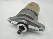 A11 Starter Motor For 4 Stroke Scooter GY6 50 GY6 60 GY6 80 CC 139QMB 139QMA 147QMD GY6 50cc 80cc Motorcycle Engine Electric motorcycle big bore 50mm 13mm pin cylinder kit for gy6 80 80cc upgrade 100ccc 139qma 139qmb modified engine spare parts