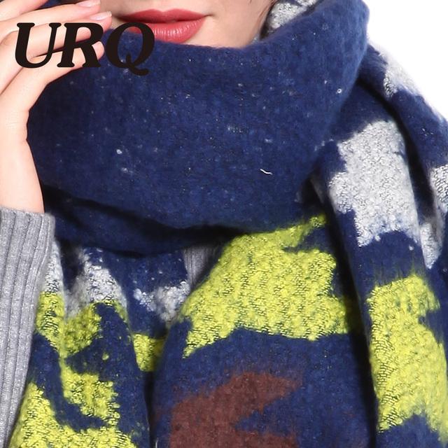 soft winter warm scarf for women long with tassel scarves lady shawl pashmina wrap Tartan Blanket 2017 new arrival