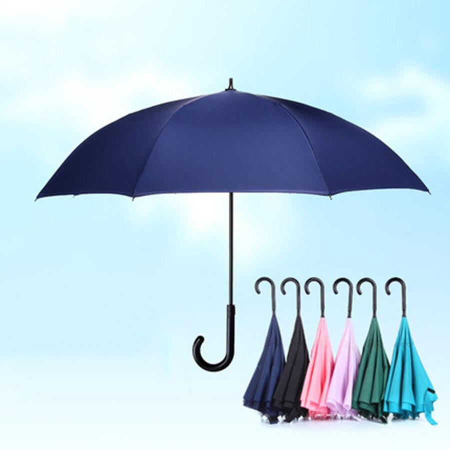 Parapluie inversé coupe-vent automatique femmes pliant Min parapluies pluie danse parapluies Sombrinhas Mulher princesse Parasol 70D0251