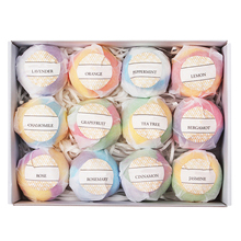 Buy 12pcs Natural Spa Essential Handmade Oil Moisturizing Skin Care Props Stress Relief Exfoliating Salts Bombs Bubble Bath Ball directly from merchant!