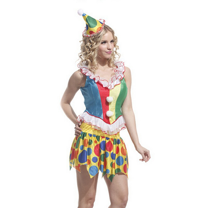 Halloween costumes for women;stage performances;masquerade performance clothing;female clown costumes-in Holidays Costumes from Novelty u0026 Special Use on ...  sc 1 st  AliExpress.com & Halloween costumes for women;stage performances;masquerade ...