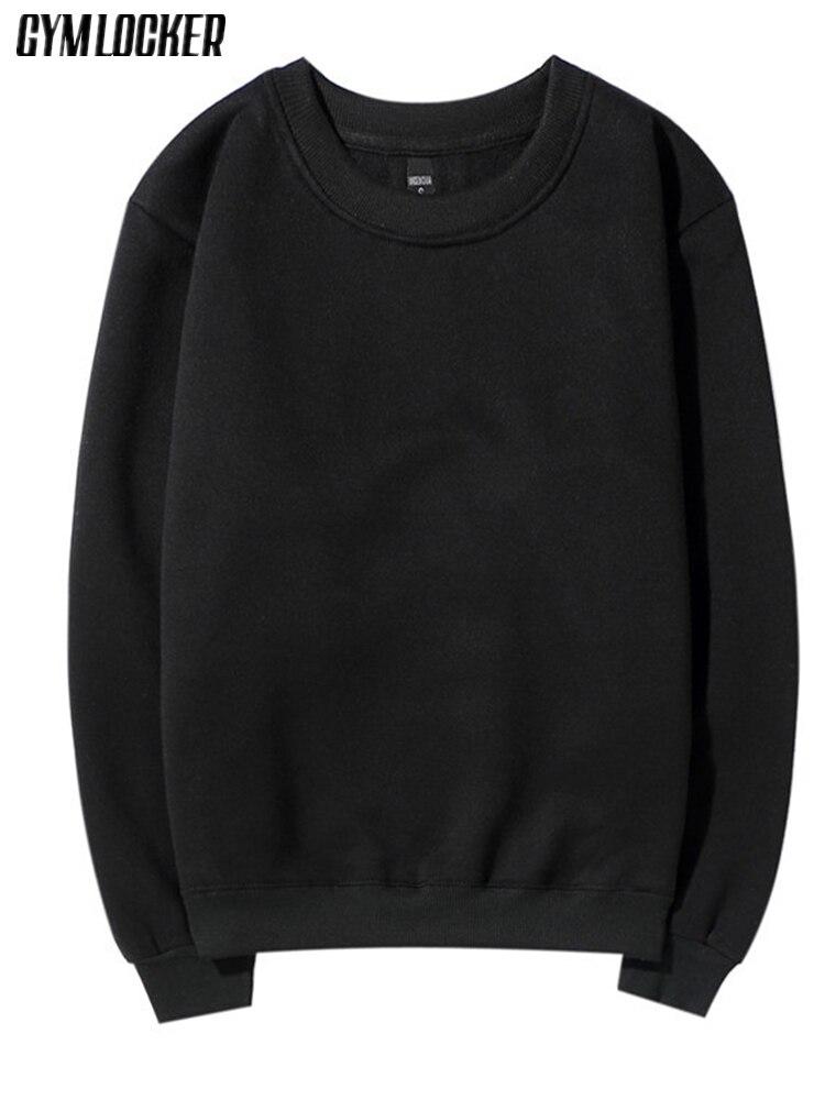 Herrenbekleidung & Zubehör Ausdauernd Gymlocker Einfarbig Hoodies Männer Dicke Fleece Paare Mode Streetwear 2017 Marke Kleidung Sweatshirts Skateboard Kleidung