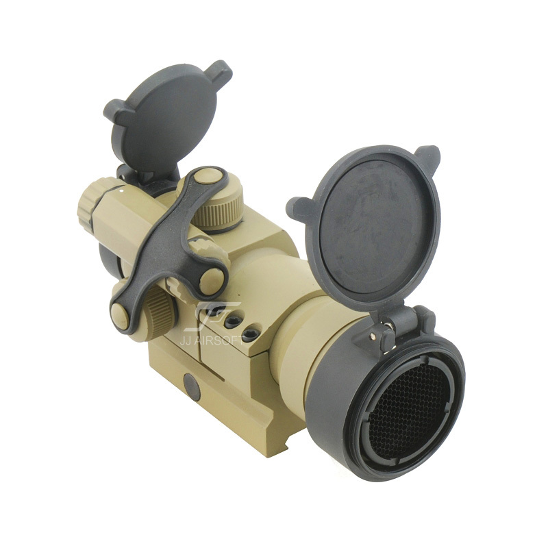 JJ AIRSOFT M2 Red Dot with Killflash / Kill Flash (Tan) FREE SHIPPING jj airsoft 3x magnifier with killflash and xps 3 2 red green dot black tan buy one get one free killflash