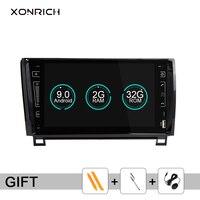 Xonrich 2 Din Android 9.0 Car DVD Player for Toyota Tundra Sequoia 2007 2008 2009 2010 2011 2012 2013 Autoradio Wifi OBD2 IPS 4G