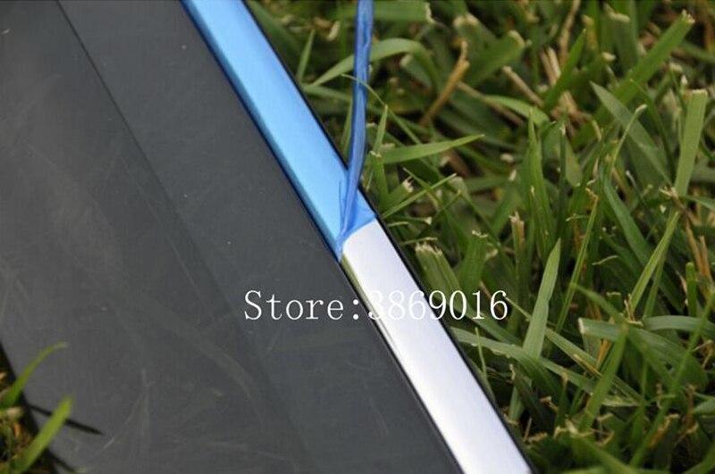 Fit pour Nissan Qashqai J10 acrylique fenêtre visière Vent nuances soleil pluie déflecteur garde auvents 2007 2008 2009 2010 2011 2012 2013 - 4