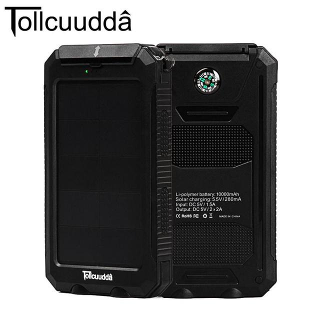 official photos 3aa2d 6323a US $44.29  Original Tollcuudda 10000mAh power bank,universal waterproof  portable powerbank external battery charger for samsung for iphone-in Power  ...