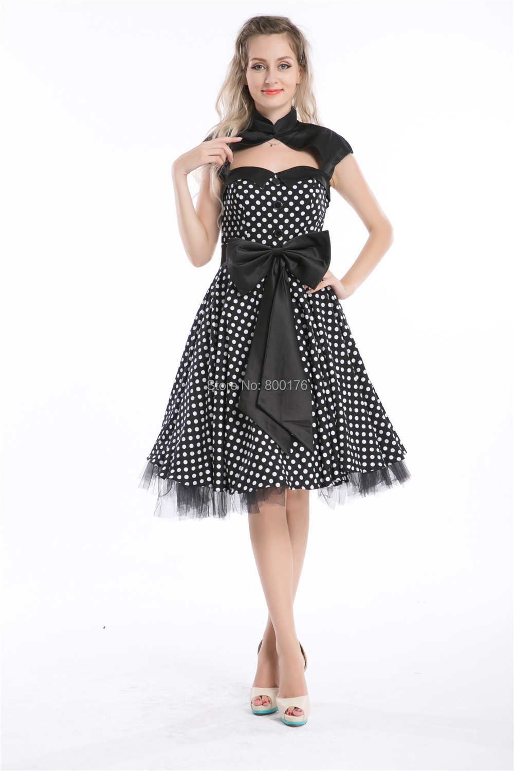 Compare Prices on Kleid Vintage Schwarz- Online Shopping/Buy Low ...