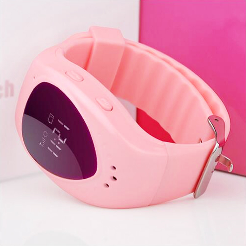 Smart Baby Watch Cute Kid Wristwatch GSM GPRS GPS Locator Tracker Anti Lost SOS Alarm font