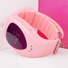 Smart Baby Uhr Nettes Kind Armbanduhr GSM GPRS GPS Locator Tracker Anti-verlorene SOS Alarm Smartwatch Kind Schutz für iOS Android