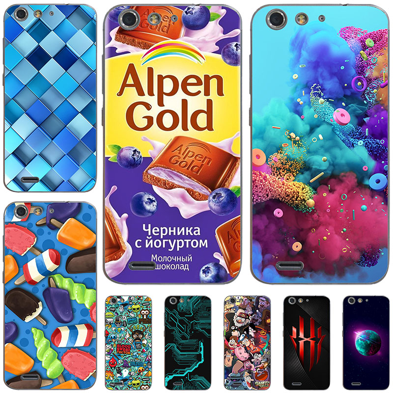 45 styles Phone Case For Zte Blade A515 A511 Case Cover Luxury Diy Colored Soft Case For ZTE Blade A 515 Silicone Phone Bags image