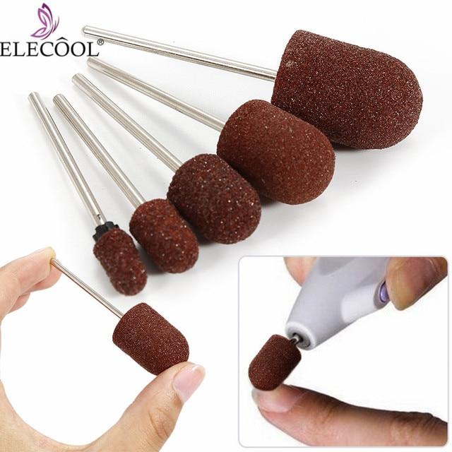 Multi-sizes Nail Drill Bit Sanding Caps cutters for Pedicure Manicure Electric Remove Calluses frezy do frezarki manicur TSLM1