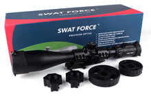 TACTICAL SWAT FORCE KT8 40x60SAL Mil dot Hunting Riflescope Anti Shock large hand wheel Rifle Scope