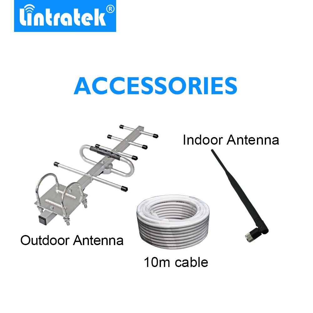 Lintratek Puissant GSM Répéteur 900 MHz LCD Affichage GSM Cellulaire Signal Booster UMTS 900 MHz Mini Téléphone Amplificateur MISE À JOUR #2017 - 6