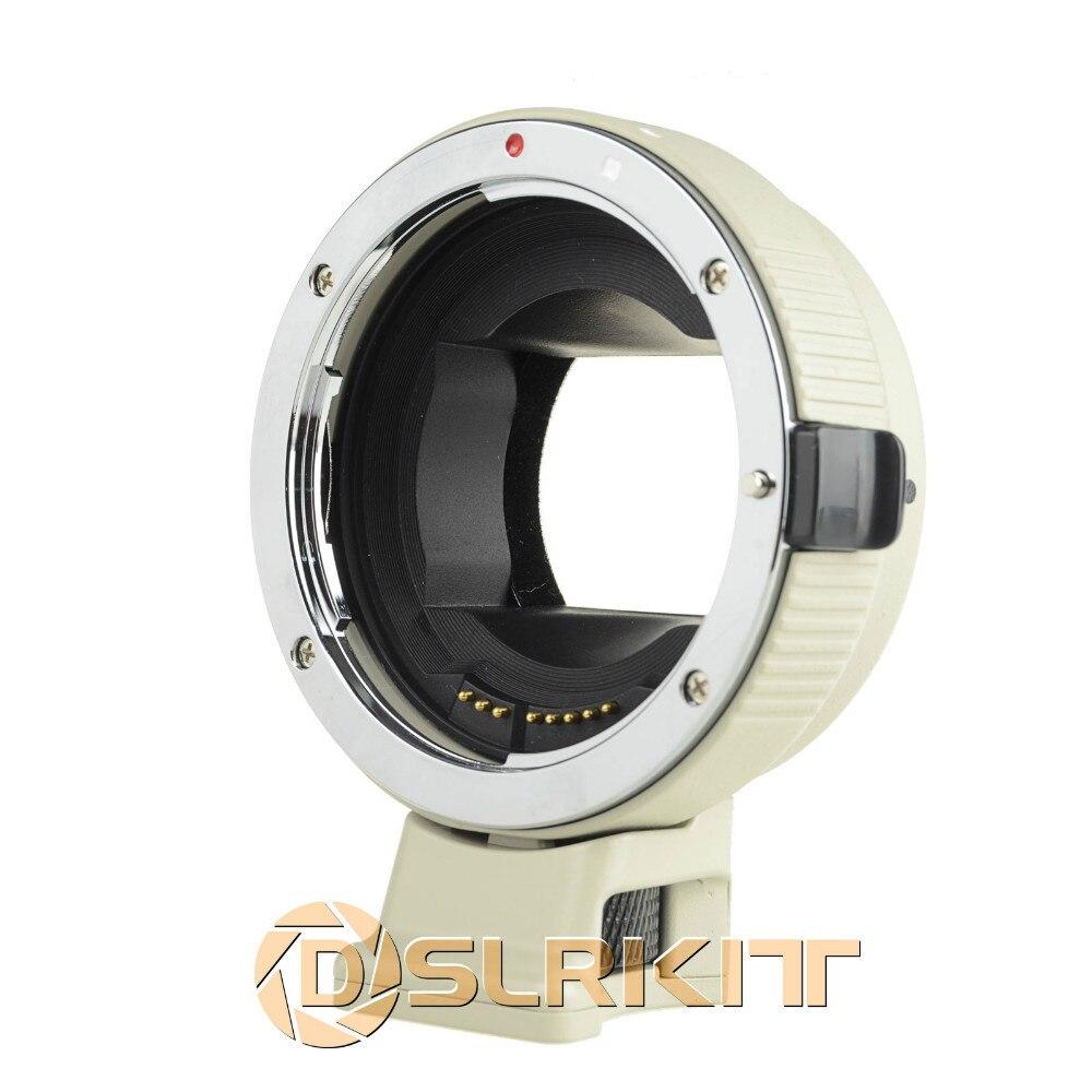 Adaptateur de mise au point automatique électronique pour objectif Canon EOS EF-S pour Sony NEX A7 A6000 NEX Version blanche