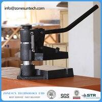 8360 áp lực Tay lấy mẫu máy, Laser dao khuôn da stamping machine, manual da khuôn/Chết máy cắt